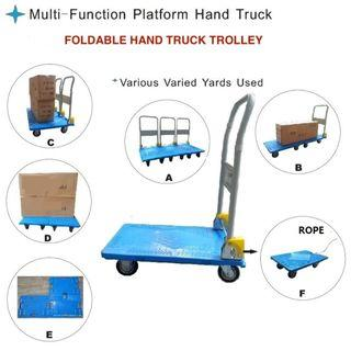HomeProud Hand Truck Trolley 120kg on Offer @ FairPrice Xtra Outlet.