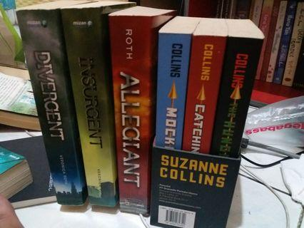 The hunger games bookset