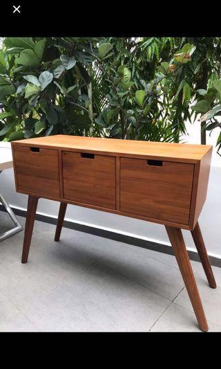 🚚 Solid teakwood Side cabinet, tv cabinet