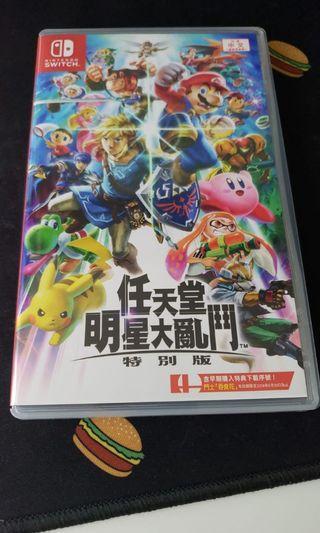 Super smash bros ultimate 任天堂明星大亂鬥 特別版 for nintendo switch