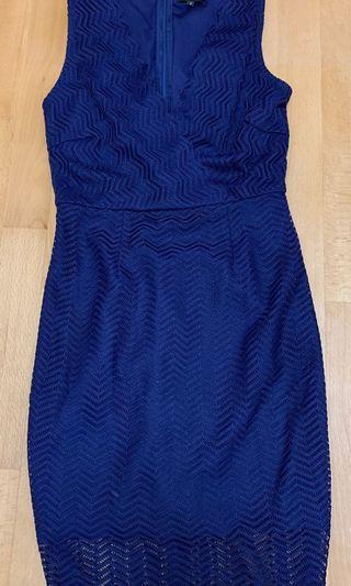 Lace Dress 購自ZALORA (size S)