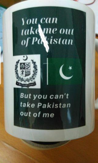 Pakistan Cup mug