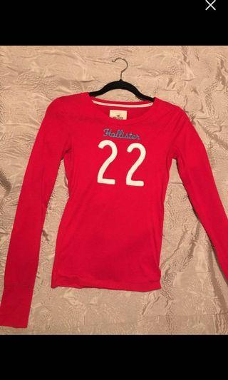 Hollister Long Sleeve Shirt - Size XS