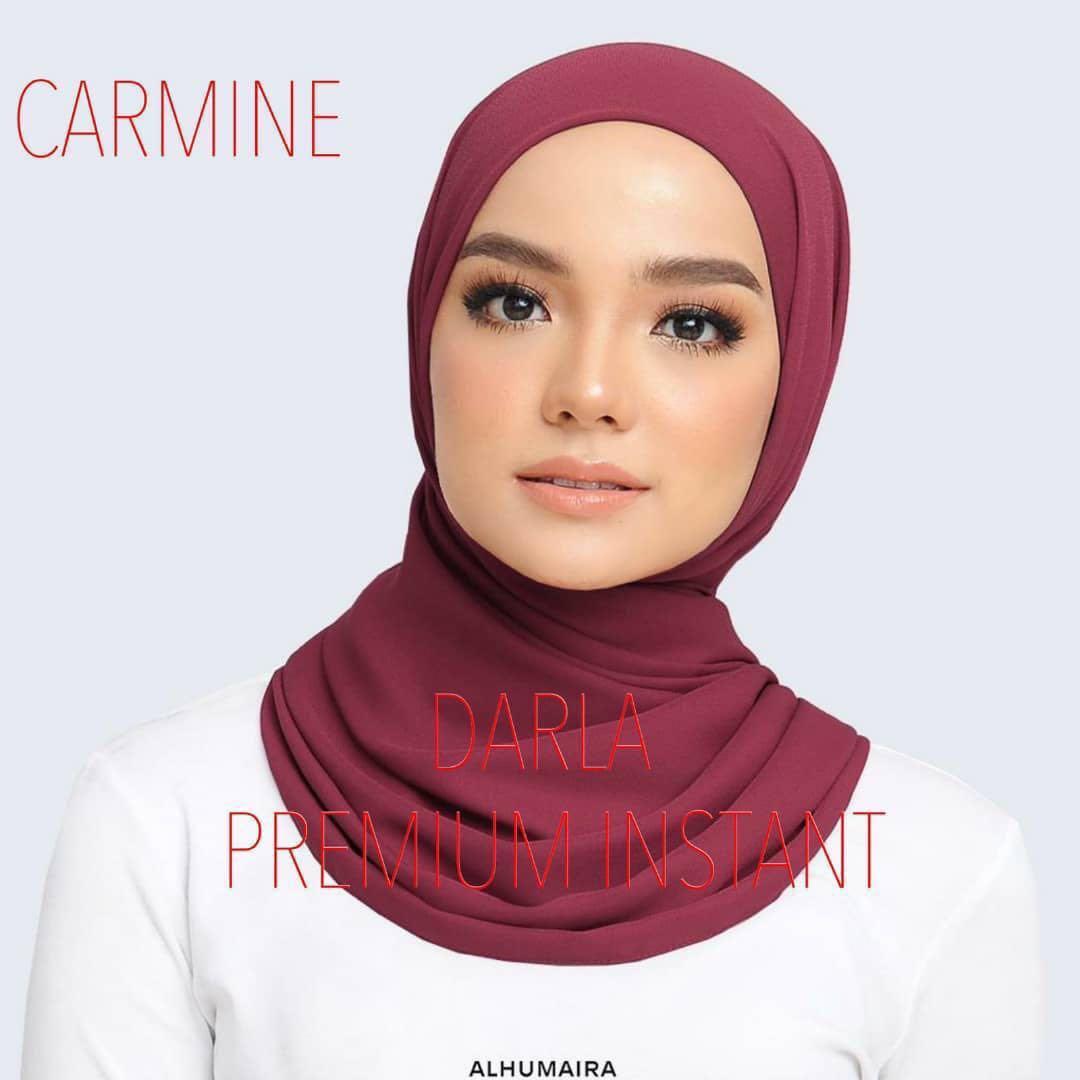 2019 Alhumaira Darla Premium Instant Raya Shawl