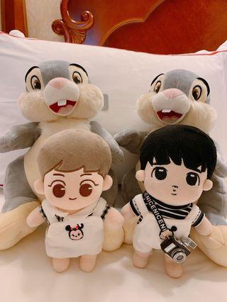 [SG G.O] 20cm & 15cm EXO Doll clothes / accessories