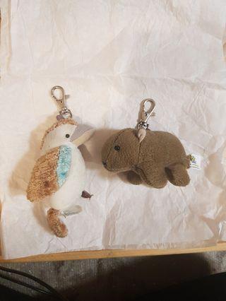 Cute animal keyring #swapAU