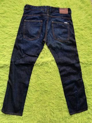H & M Straight Regular Denim Jeans