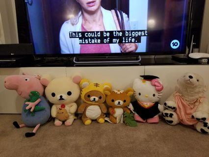 Stuff animals for sale