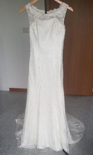 Trumpet/Mermaid Lace Wedding gown
