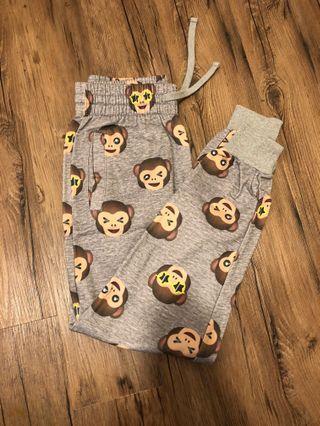 🚚 H&M Monkey Joggers/Sweatpants