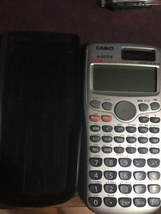 Calculator 計數機dse (fx-50FH ||)
