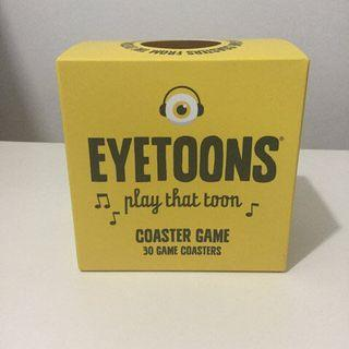 Eyetoons play that toon Coaster Game