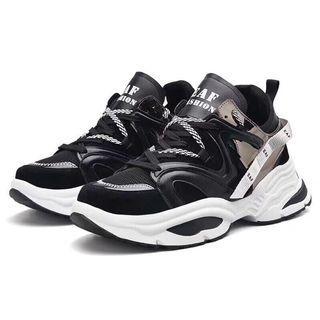 老爹鞋(黑/灰都有)