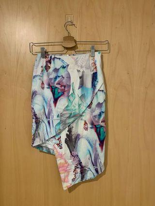 Bardot Asymmetrical Skirt
