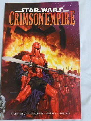 🚚 Star Wars- Crimson Empire trade paperback