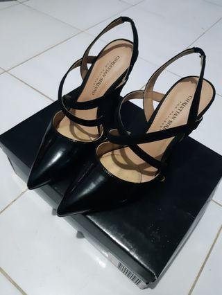 High Heels/ high heels hitam / high heels payless