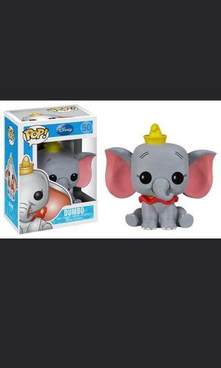 Disney Funko pop DUMBO 小飛象 迪士尼 figure 擺設
