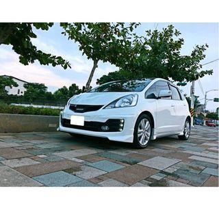 2012 Honda FIT 1.5 白 配合全額貸專案 FB搜尋 : 『阿文の圓夢車坊』