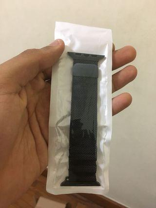 Special Offer: Apple Watch Black Milanese Loop Strap // Black Mesh Loop, Black Metal Strap