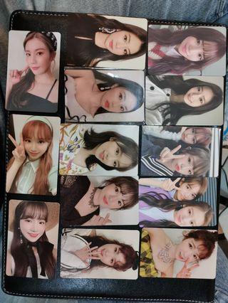IZ*ONE Color*IZ Heart*IZ Photocards