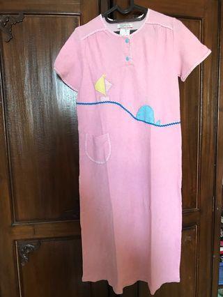 Pink Bath Dress #ramadansale