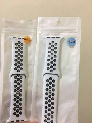Special Offer: Apple Watch Nike White Black Sport Band / White Black Nike Silicon Strap