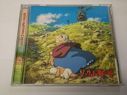 宮崎駿 哈爾移動城堡 電影原聲大碟 久石讓 CD 2005年