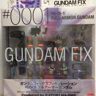GFF 0001 Full Armor Gundam New