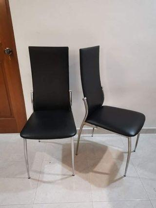 🚚 Leather Dining Chairs