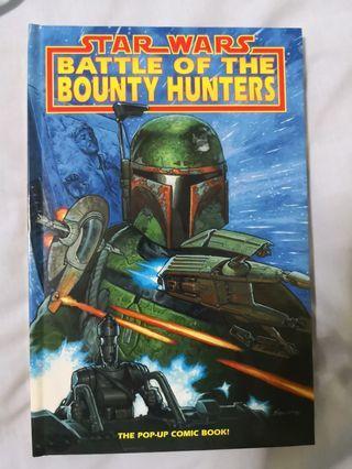 🚚 Star Wars- Battle of the Bounty Hunters pop up comic