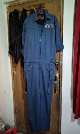 Jumpsuit overall workshirt FMC