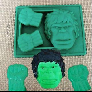 Marvels, batman and superman silicon ice tray jelly mold