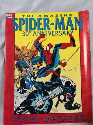 The Amazing Spider-man 30th Anniversary poster Magazine