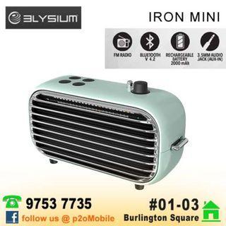Elysium Iron mini Bluetooth Speaker by lofree