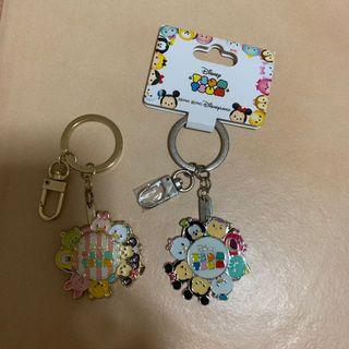 2 for $20 - BNWT Authentic Hongkong Disneyland Tsum Tsum rotating keychain. Another one no tag but is Brandnew