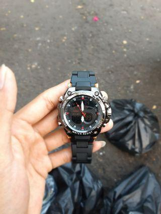 jam G-shock Gst 359 rubber rante limited