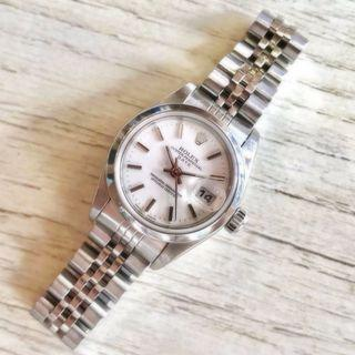 Ladies' Rolex Oyster Date Snow White 79160