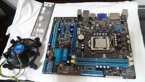 P8H61-M+intel core i3-2100 3.10ghz