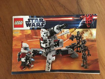 🚚 Lego Starwars #9488 and #75036