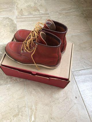 🚚 Red wing moc toe 8131