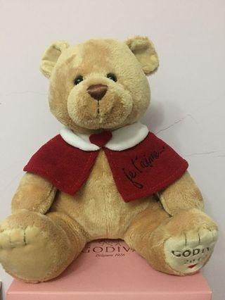 🚚 Godiva 情人節小熊