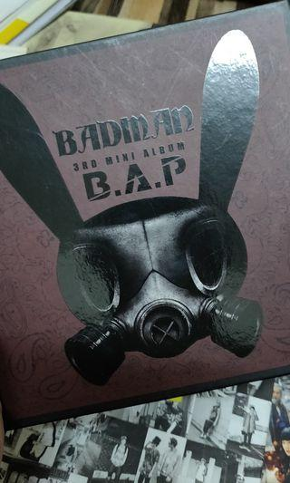 [GIVEAWAY! JUST PAY FOR THE POSTAGE] B.A.P Badman Album
