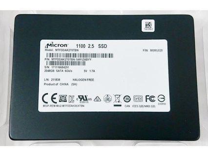 Micron 2TB SSD SATA 6Gb/s High Performance l