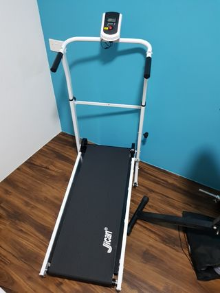 Treadmill foldable manual