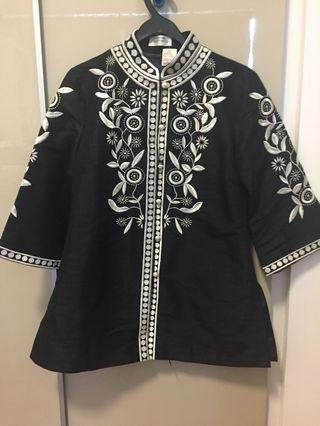 Madame Butterfly Embroidered Jacket