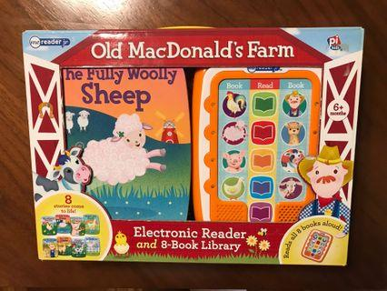 Old MacDonald's Farm Me Reader Jr. 8-Book Library 發聲讀物