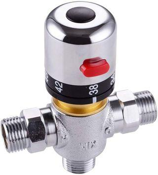 Dovewill Durable Angle Valve Thermostatic Mixing Valve For Water Heater Shower Control Mixer - B