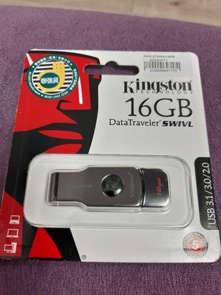 Kingston 16GB USB3.1/3.0/2.0