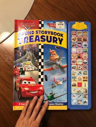 sound story book Lightning McQueen