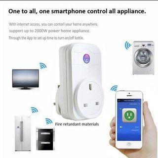 Wi-fi smart socket, save, smart, gadget, intelligent